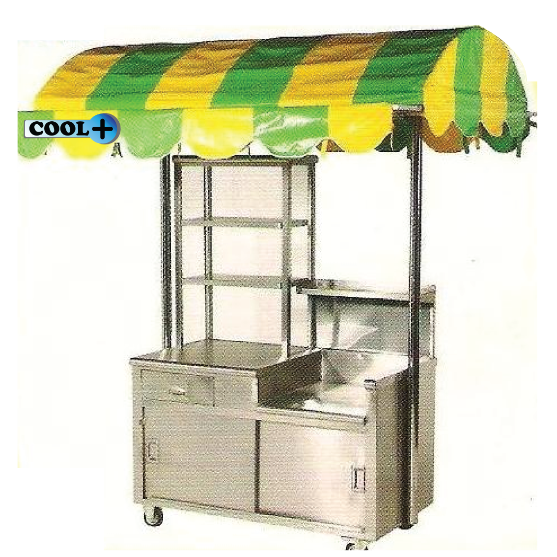 Burger stall with Canopy  sc 1 st  Cool Plus & Cool Plus